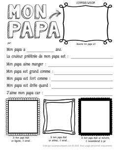 ideas for diy kids crafts for dad mothers day Fathers Day Poems, Fathers Day Crafts, Cadeau Parents, Dream Catcher White, Teaching French, Mother And Father, Diy Crafts For Kids, Holidays And Events, Mom And Dad