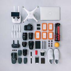 Photography #gear with @veeceecheng     #Regram via @flatlay #flatlay