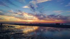 Sunset at Mayflower Beach in Cape Cod