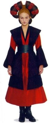 Sabe's outfit from Phantom Menace is actually a really good Sith Costume for Saber Guild.