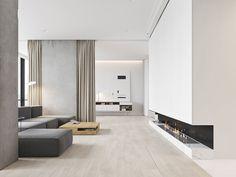 cool Minimalist Bachelor Apartment