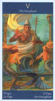 Tarot of Mermaids ► The Hierophant