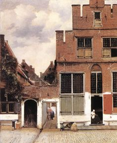 The Little Street, 1658, Johannes Vermeer.