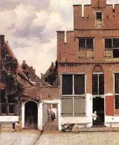The Little Street, 1658, Johannes Vermeer.