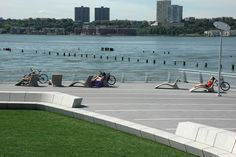 Riverside Park South Waterfront | New York | Thomas Balsley Associates - lots of good inspiration on this site