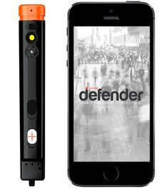 The Defender Pepper Spray Takes A Picture of Your Attacker So the Cops Can Bust Him on @Bustle