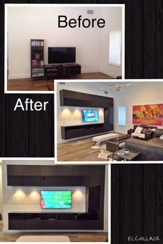 Prepac Altus Wall Mounted Entertainment Center | tv stands/councils on