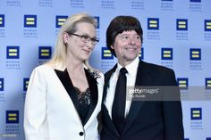 Honoree Meryl Streep and Filmmaker Ken Burns attend the 2017 Human Rights Campaign Greater New York Gala at Waldorf Astoria Hotel on February 11, 2017 in New York City.