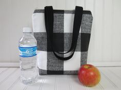 Lunch Bag  Lunch Tote  Insulated Lunch Tote  by OohBabyInfinity