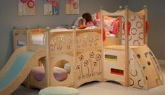 Indoor beds and playsets
