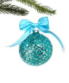 DEI Scale Embossed Glass Ball Ornament | zulily