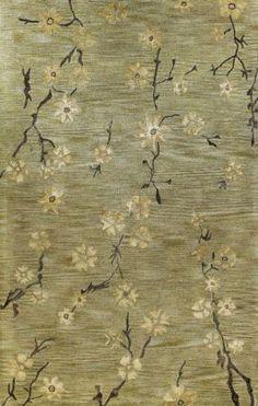 Bashian Greenwich Kimono Wheat Rug   Country & Floral Rugs