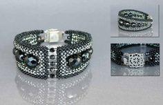 Geometric bracelets by Galina Kolmogorova