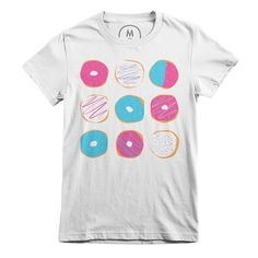 Love love love this cute #donut tee! Can't believe it's only available a few more days ahhh!  #tshirt #donuts #shirts   Cotton Bureau – Donut Mess With Me by Marcella Jalbert