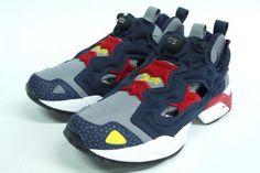 WHIZ LIMITED × MITA SNEAKER × REEBOK INSTA PUMP FURY #sneaker