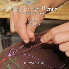 Macrame Art, Art Therapy, Poster, Billboard