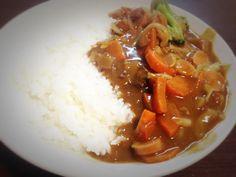 home-made curry