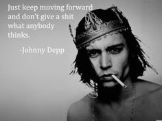 Classic Johnny Depp Moving Forward Quotes Images Wallpapers