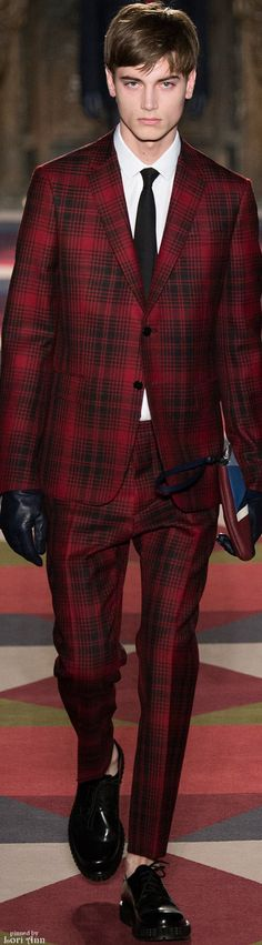 Valentino Fall 2015 | Men's Fashion | Men's Style | Menswear | Moda Masculina | Shop at DesignerClothingFans.com