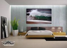 #bedroom #art #wave #ocean AAron Goulding Photography