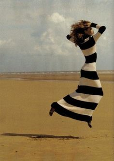 Yes, the photographers found me again last week -- on the beach, jumping. ;)