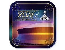 Super Bowl XLVII Dessert Plates