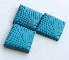 Turquoise Hand Carving 3 Pc Set Turquoise Hand by gemsforjewels