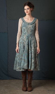 Magdalena Corset Dress. By Alabama Chanin