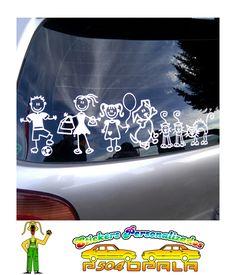 """Sticker """"Pack Familia"""", con 03 integrantes adicionales"""
