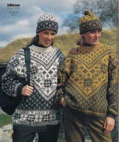Норвежский орнамент (много). Обсуждение на LiveInternet - Российский Сервис Онлайн-Дневников Knitting Paterns, Knitting Charts, Knitting Designs, Hand Knitting, Knit Crochet, Crochet Hats, Hand Knitted Sweaters, Fair Isle Knitting, Knit Fashion