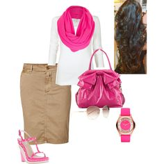 """Pinky Pink"" by sweet-spicy-micky on Polyvore"