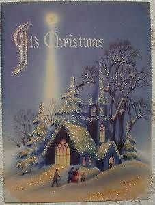Christmas Card Images, Vintage Christmas Images, Christmas Scenes, Christmas Past, Retro Christmas, Vintage Holiday, Christmas Pictures, Xmas Cards, Christmas Greetings