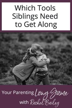 While it's valuable to learn parenting tips and tools, it's also helpful to learn how to apply them to real situations. In this episode of Your Parenting Long Game podcast, Rachel Bailey answers questions from parents about which tools siblings need to get along (and how to teach tools without condoning negative behavior). Sibling Relationships, Communication Relationship, Strong Family, How To Apply, How To Get, Family Traditions, Siblings, Parenting Hacks, Behavior