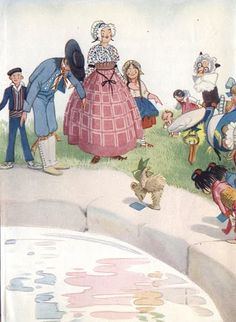 Illustrations de Honor Charlotte Appleton..Honor Charlotte Appleton (1879 - 1951) was born in Brighton, February 4, 1879 .