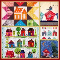 #homesweethomeminiswap. my collage of house blocks that I love. #housepartysimone