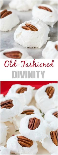 Easy homemade divinity is a classic Christmas treat of all times. This's a foolproof recipe my family loves! #divinity #divinityrecipe #christmastreats via @shineshka