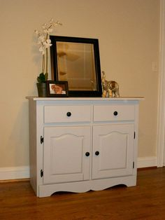 Cat litter box cabinet with drawers by LolasStudio on Etsy