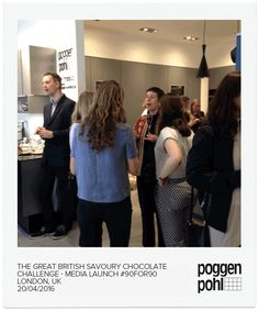GBSCC 2016 at ‪Poggenpohl‬ ‪Wigmore Street Studio #Poggenpohl #tea ‪#chocolate #drinks #90for90