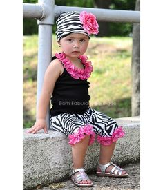 Funky Baby Clothes.... so want yhe frillies