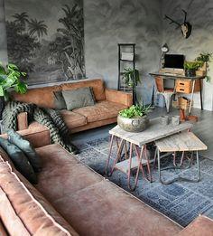 Classy Industrial Rustic Living Room Design You've Must See Interior Design Career, Interior Design Living Room, Living Room Designs, Interior Decorating, Decorating Games, Bohemian Living Rooms, Living Room Decor, Minimalism Living, Design Apartment