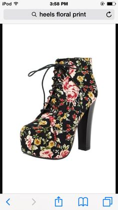 These heels are a mix of tomboy and girly girl