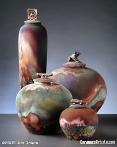 I love the Native American Indian story behind the firing of raku pottery ^ how I miss pottery...