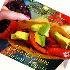 Committed to Get Fit: Shrimp Fajitas Clean Eating Style