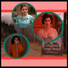 """SAD GIRLS GUIDE TO: The Style of """"Twin Peaks"""""""