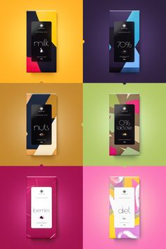 Moncloa Chocolates on Packaging of the World - Creative Package Design Gallery