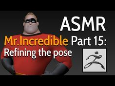 Incredible - 20 hours of video tutorials - ASMR, Riccardo Minervino Animation Tutorial, Hair Creations, Character Creation, Asmr, Zbrush, I Hope You, Modeling, The Incredibles, Poses