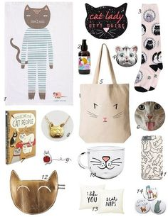 Christmas Gift Guide #1: Cat Lady