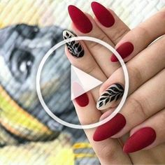 New Year Red Nail Styles To Inspire You 2020 simple and beautiful nail, red nail design, red fashion style, new year nails Cow Nails, Red Nail Designs, New Year's Nails, Red Fashion, Summer Nails, Nail Ideas, Inspire, Simple, Inspiration