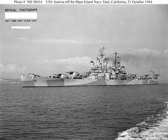 USS Astoria (CL-90)