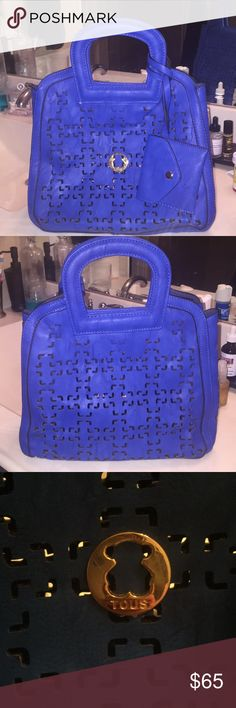 TOUS  bag Beautiful royal blue bag Tous Bags Totes